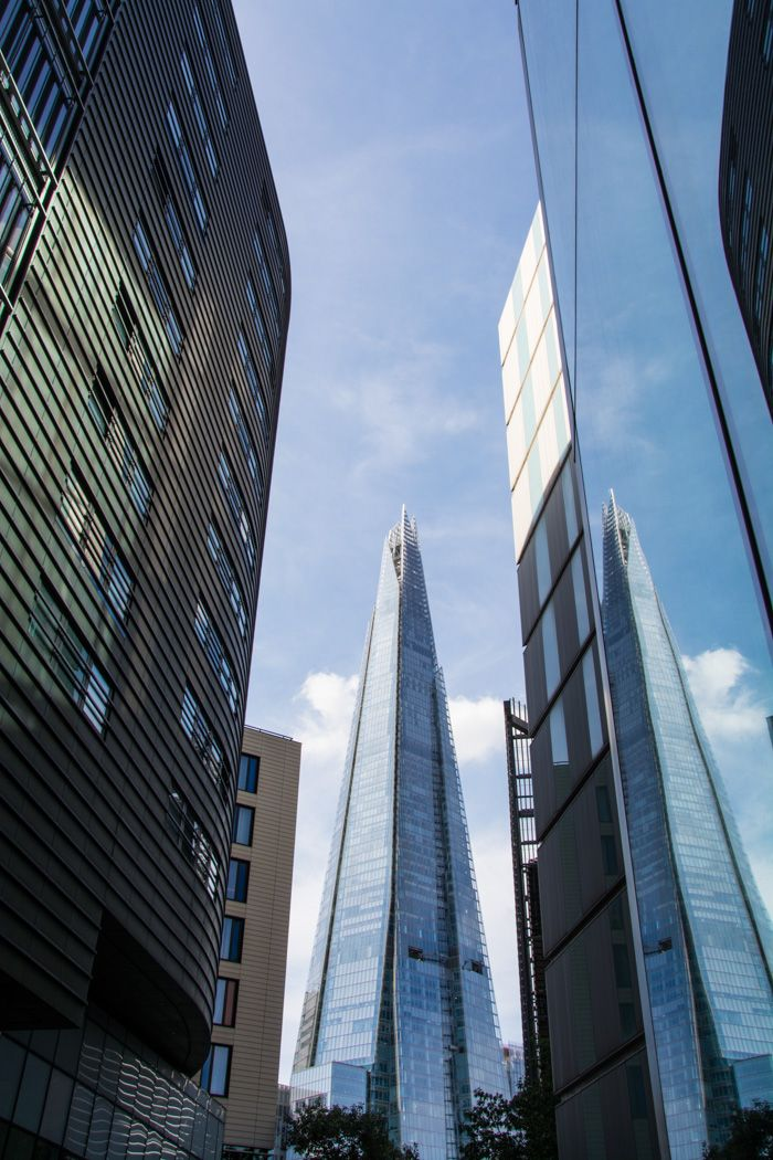 que visiter à Londres - the shard - librevoyageur