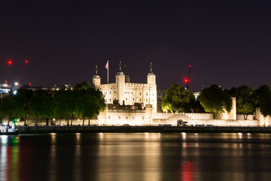 que visiter à londres - tower of london - soir - librevoyageur