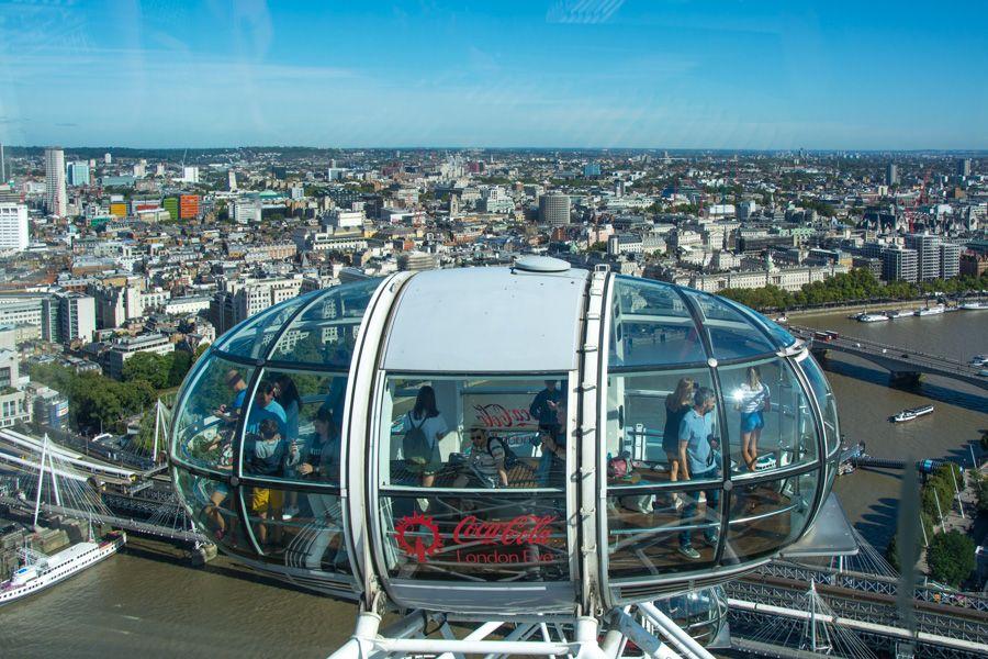 visite london eye - cabine - panorama - librevoyageur