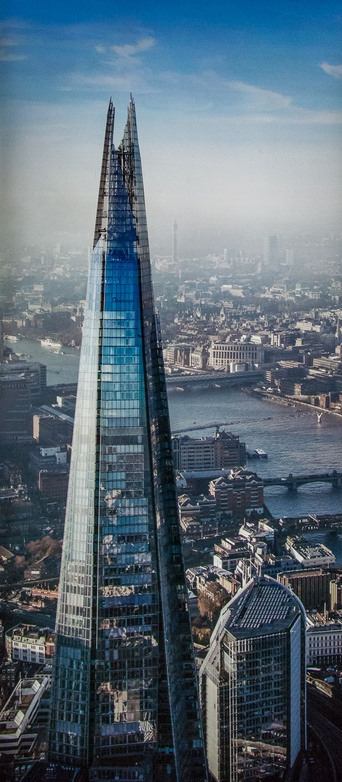 the view from the shard - londres