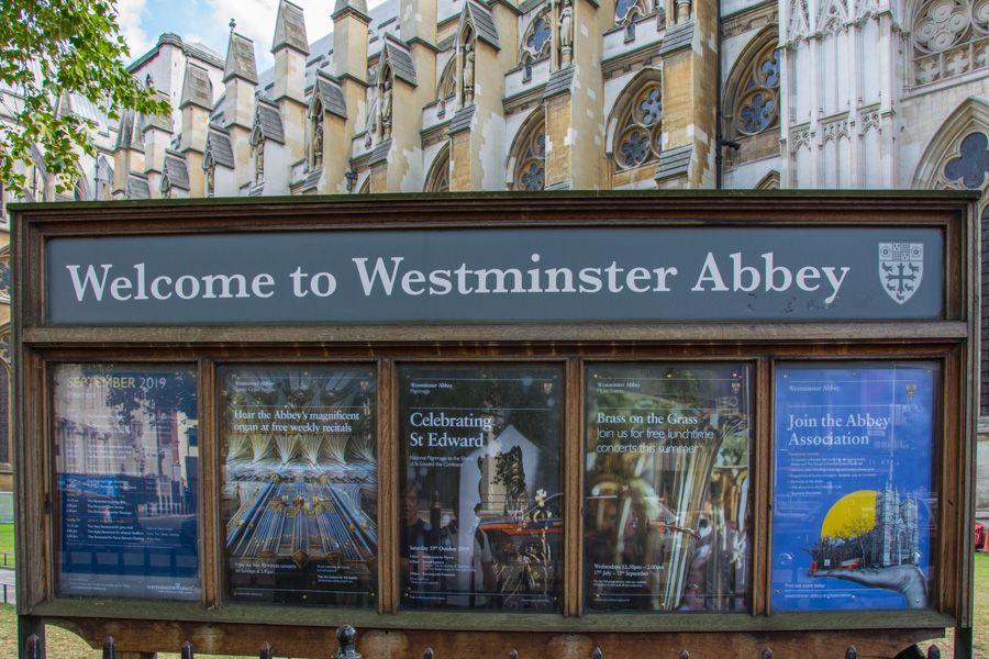 visite de l'abbaye de westminster - resrevation - billet - horaires