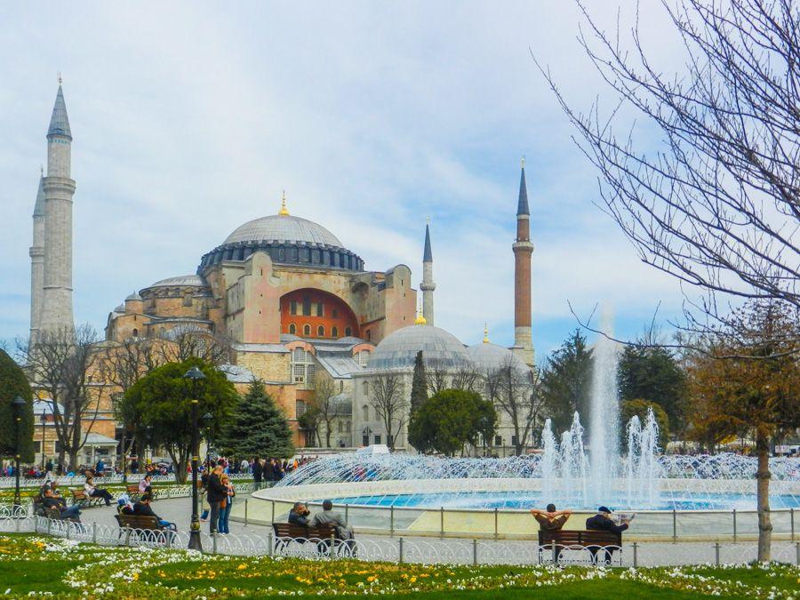 ou dormir a istanbul - sultanahmet - basilique sainte sophie