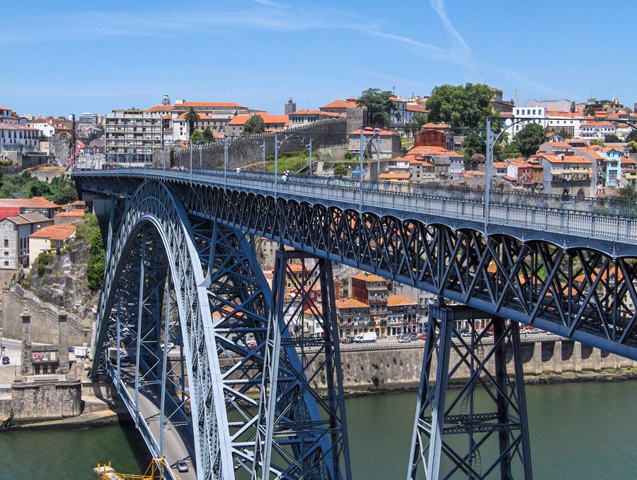 porto ribeira - ponte luis 1er