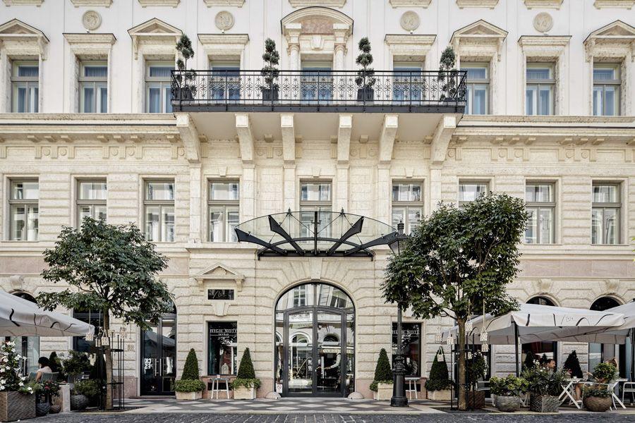 aria hotel budapest - entrée principale