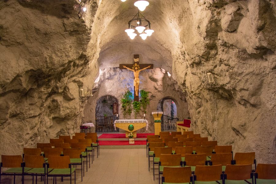 Église troglodyte Saint-Gérard