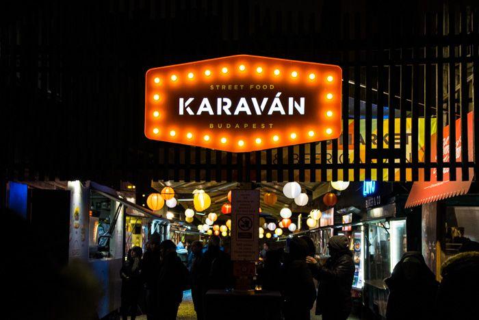 street food budapest - karavan