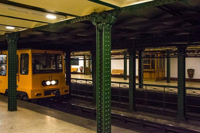 budapest - metro historique ligne jaune