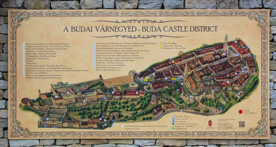 quartier historique - château de Buda