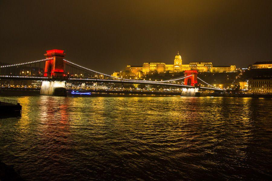 Budapest le soir