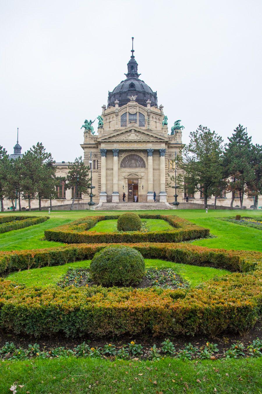 visite en 3 jours thermes Széchenyi