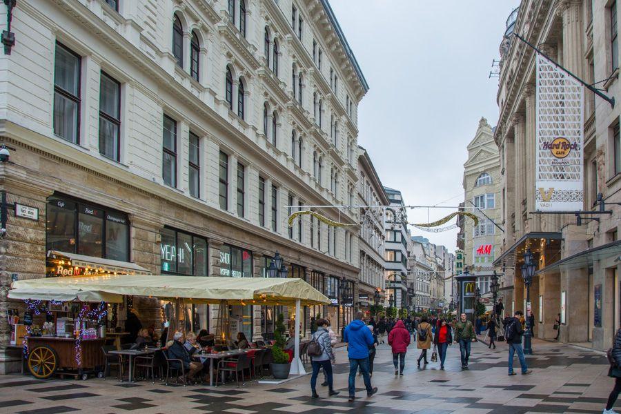 que faire a Budapest - vaci utca