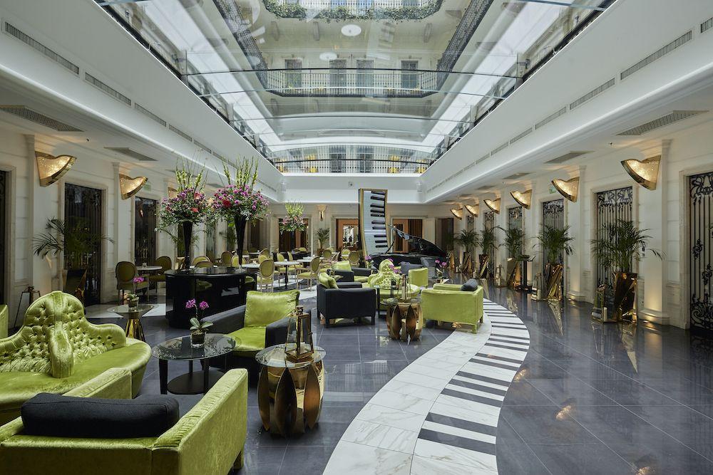 hall aria hotel budapest