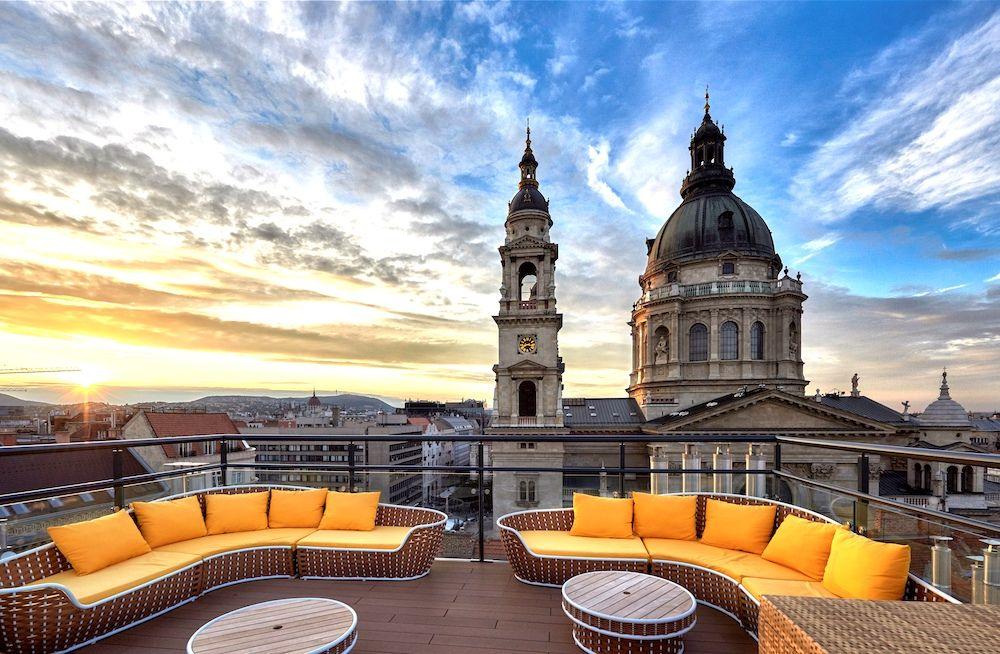 aria hotel - skybar