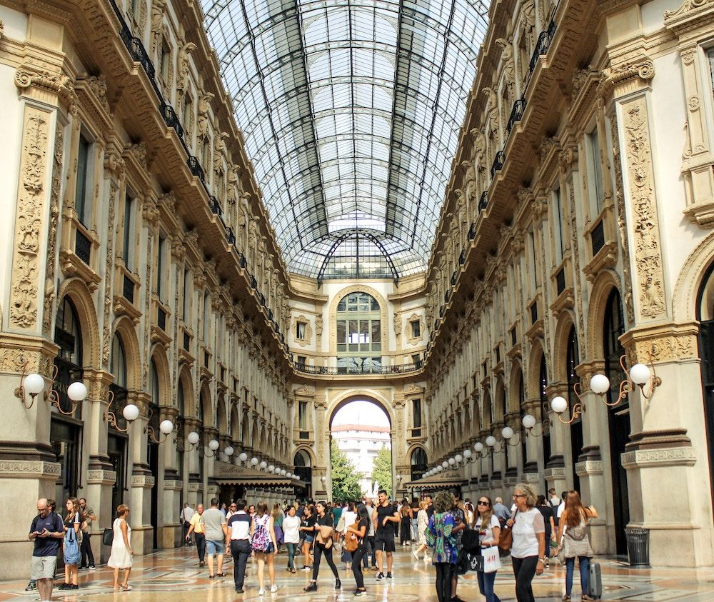 shopping en europe - milan