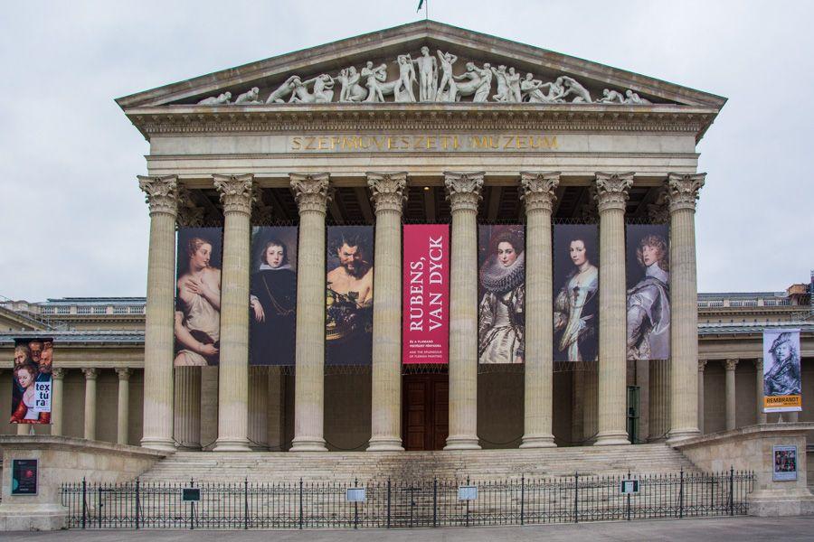 budapest - musée des beaux-arts