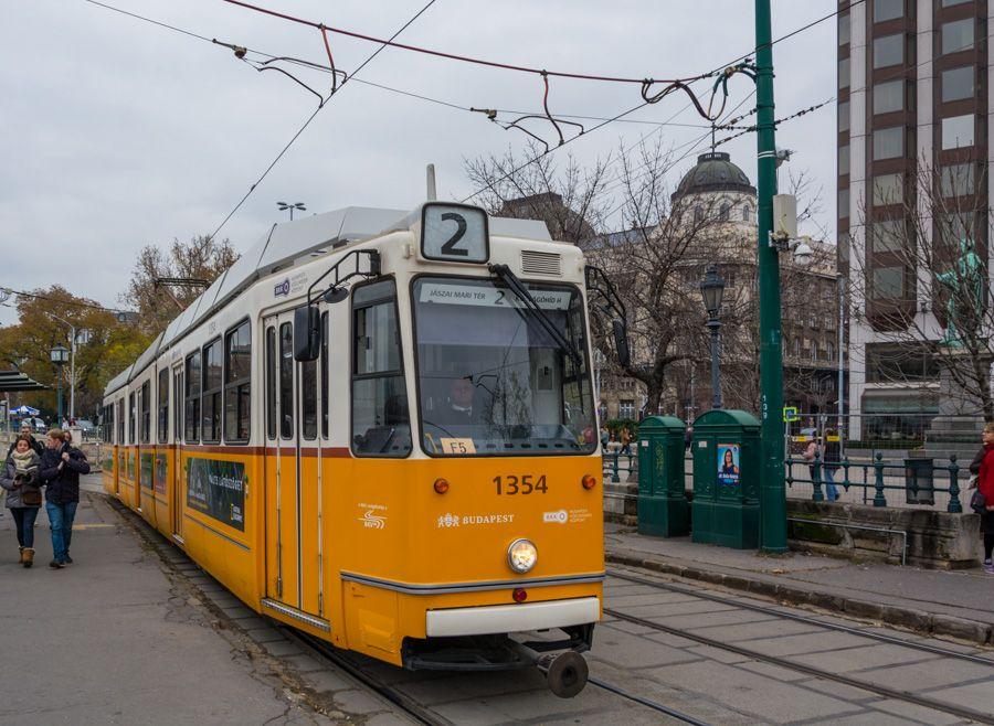 Budapest card - transports gratuits