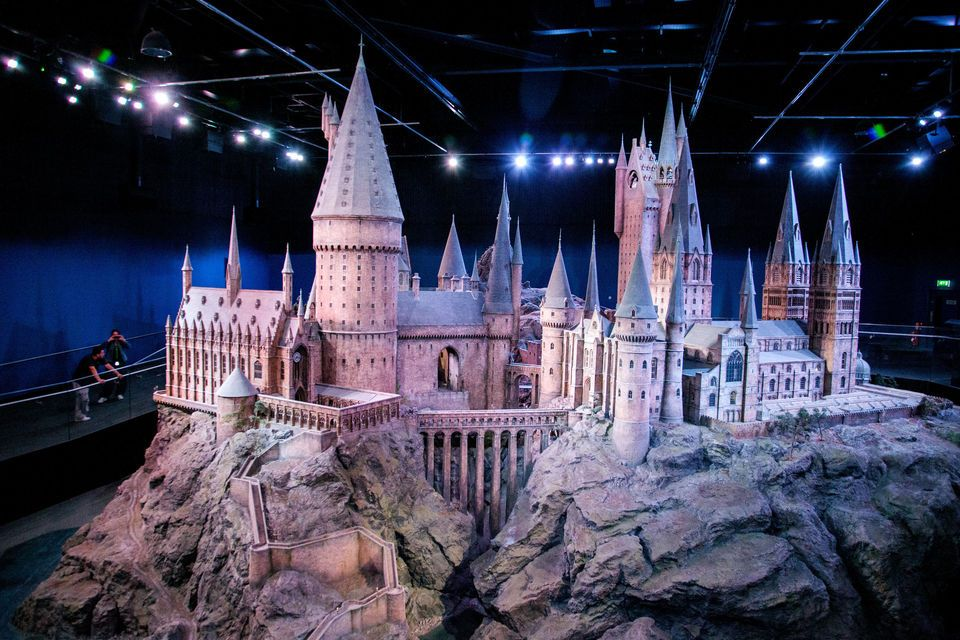 parc harry potter - maquette poudlard