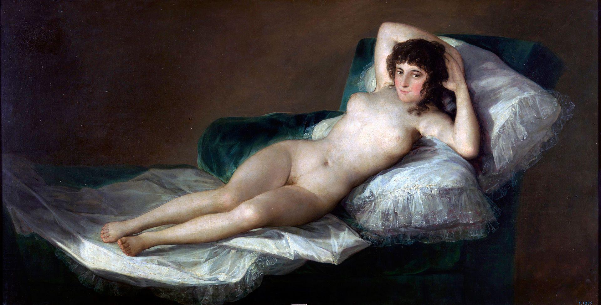 visite musée du prado - Maja nue - Goya