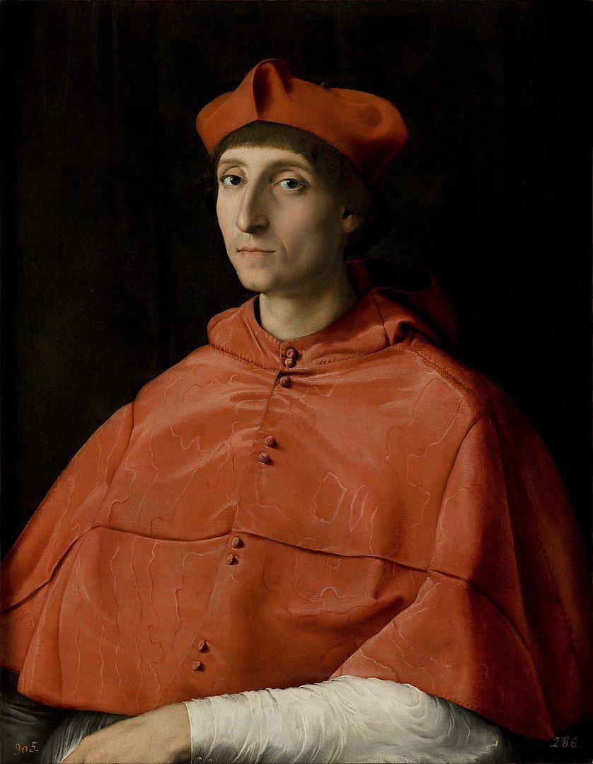 portrait d'un cardinal - Raphael