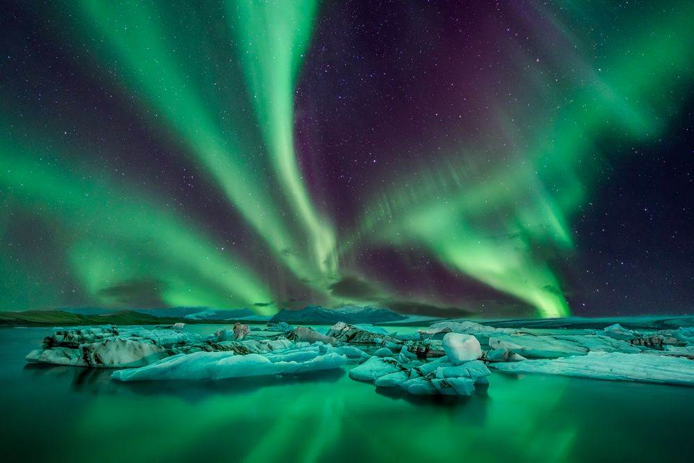 visiter l'Islande - aurore boréale