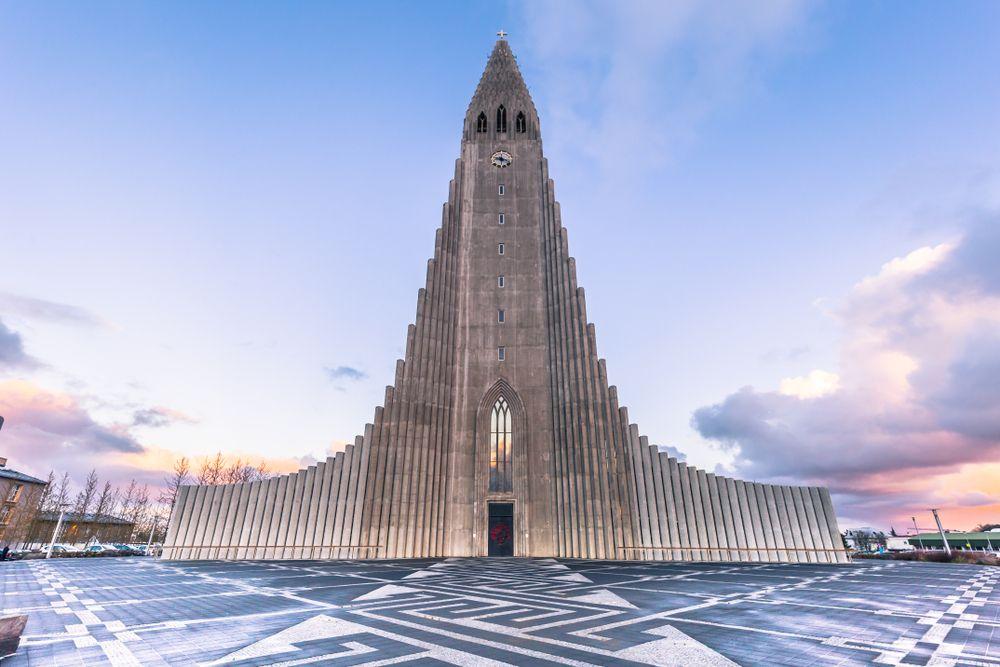 eglise Hallgrimskirkja - reykjavik -islande