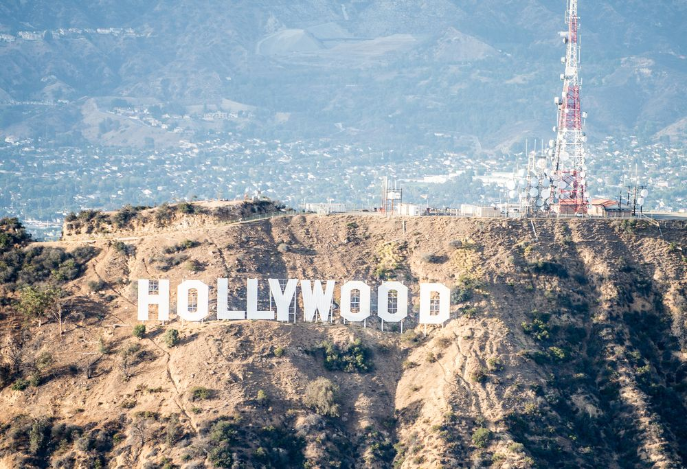 tour hélicoptère los angeles - hollywood sign