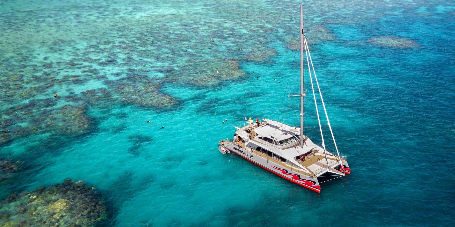 croisière a la grande barrière de corail - queensland - australie