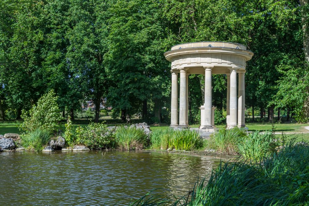 domaine de chantilly - jardin anglais
