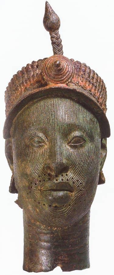 musée londres - roi ife - afrique