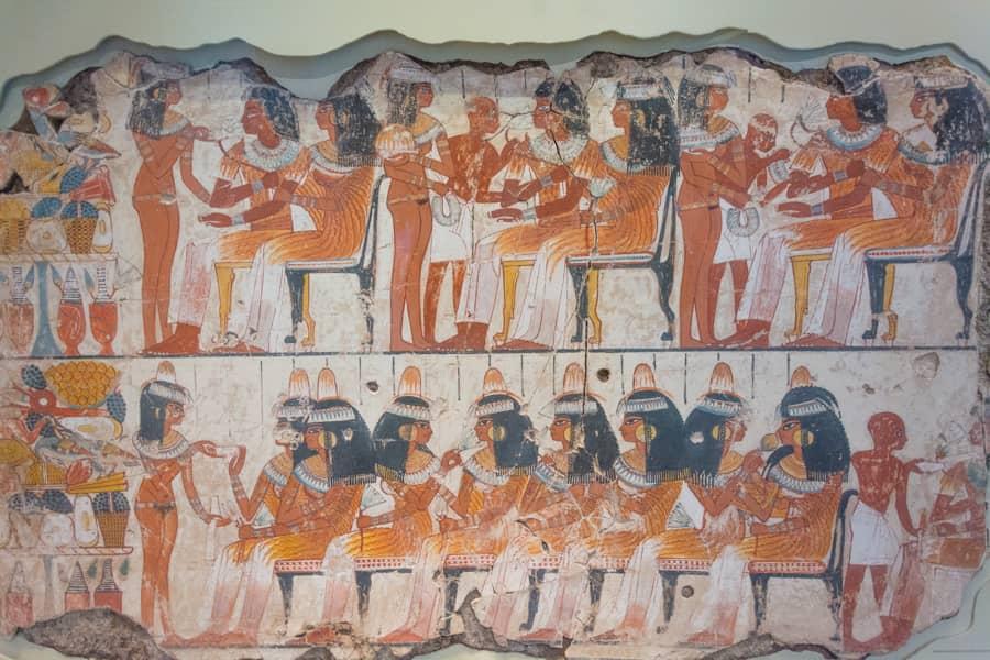 departement egypte antique - fresque egypte