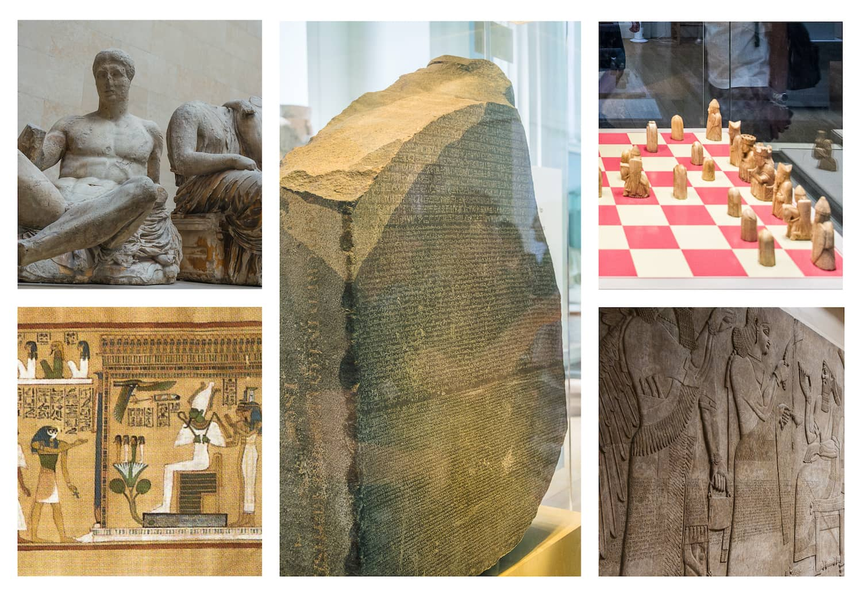 british museum incontournables