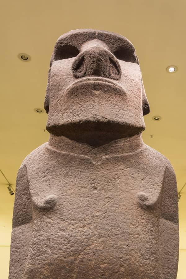 moai - ile de pâques - british museum