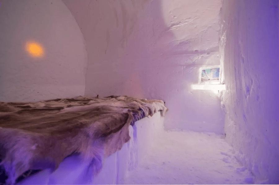 igloo de glace Norvège